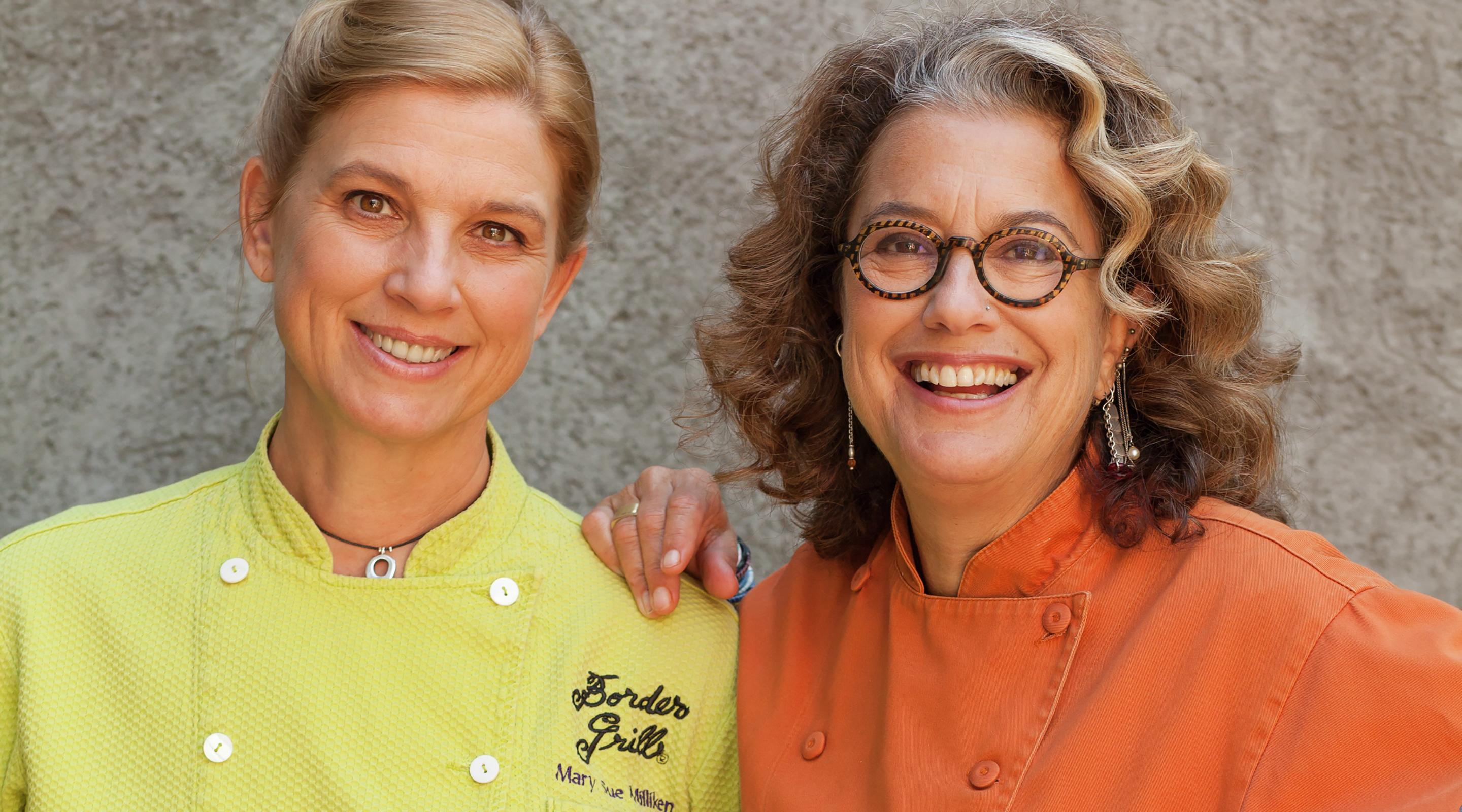 Mary Sue Milliken and Susan Feniger