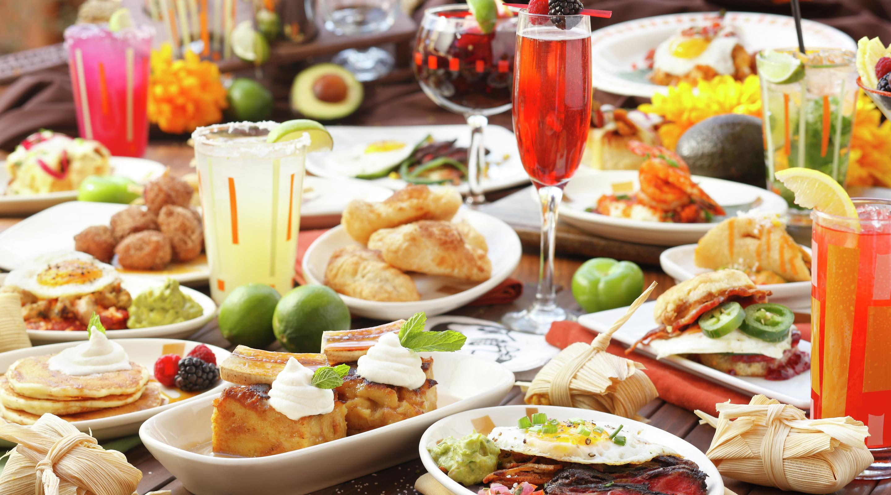 Border Grill offers all you can eat small plates brunch and add bottomless mimosas for the ultimate brunch experience