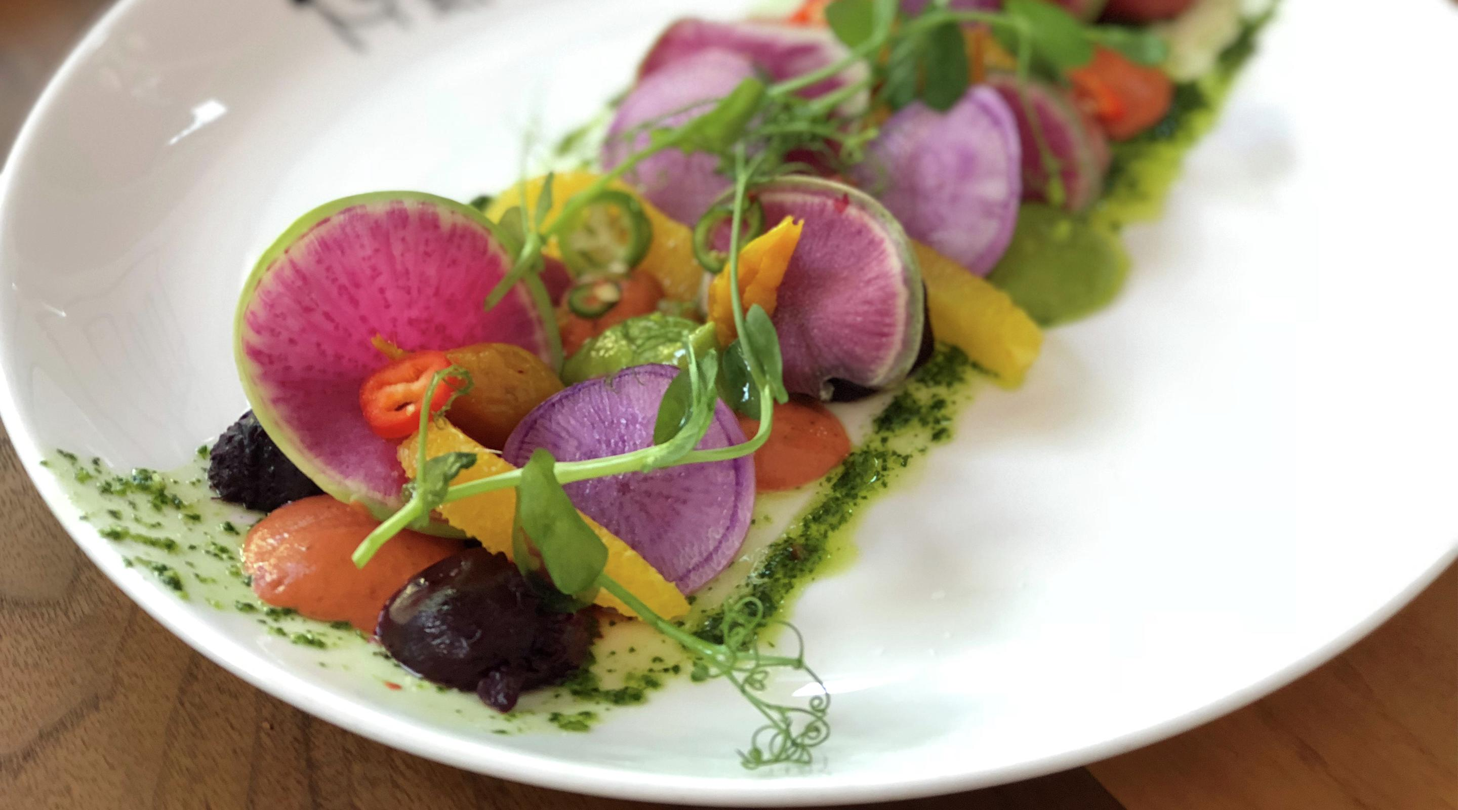 Border Grill at Mandalay Bay presents their Yucatan roasted beets.