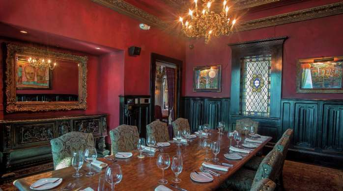 Private Dining Room At House of Blues Foundation Room