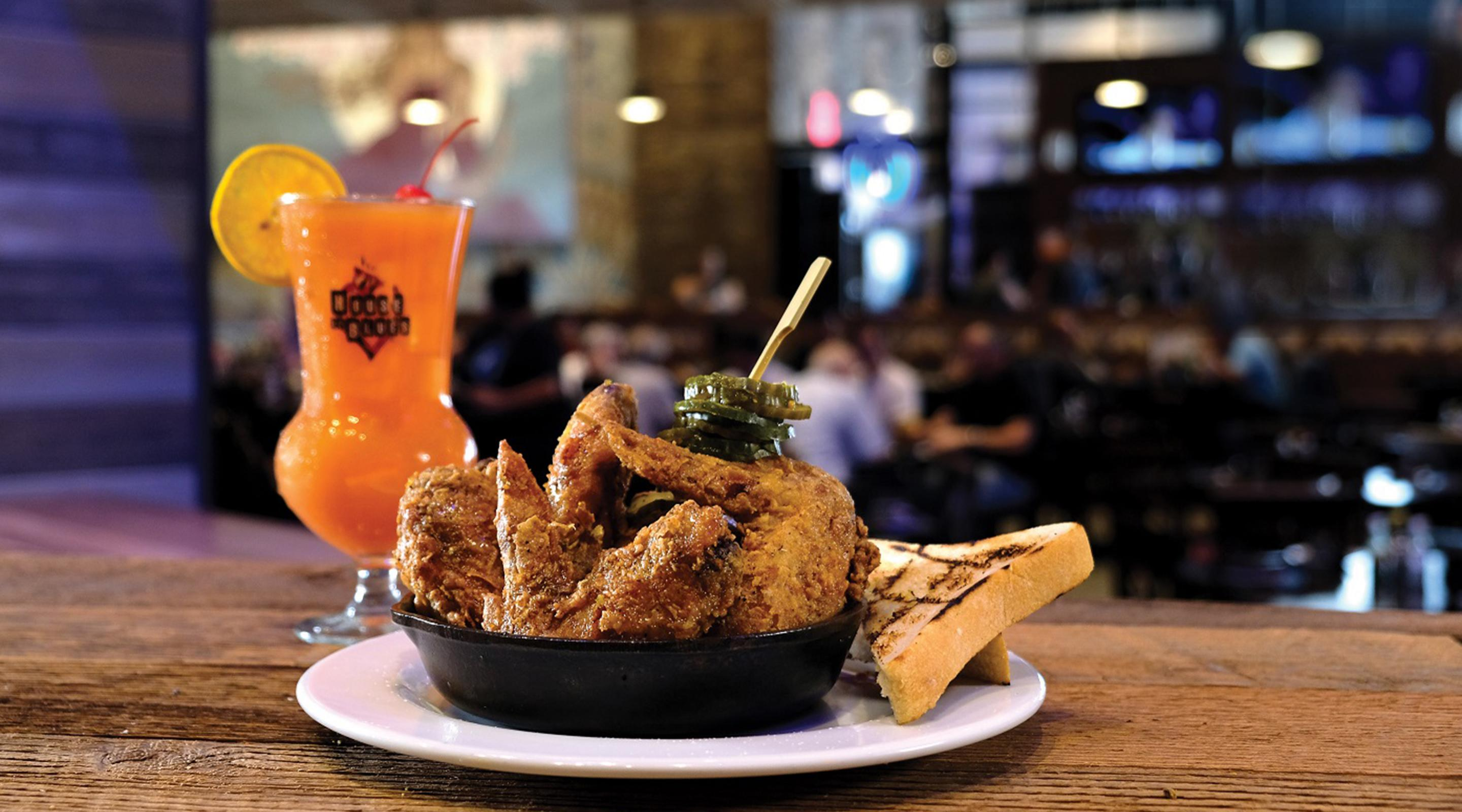 Try our Nashville Hot Wings at House of Blues Restaurant and Bar.