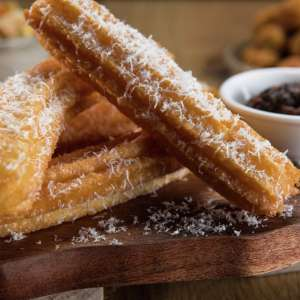 Try the Parmesan Churros at Libertine Social by Chef Shawn McClain.