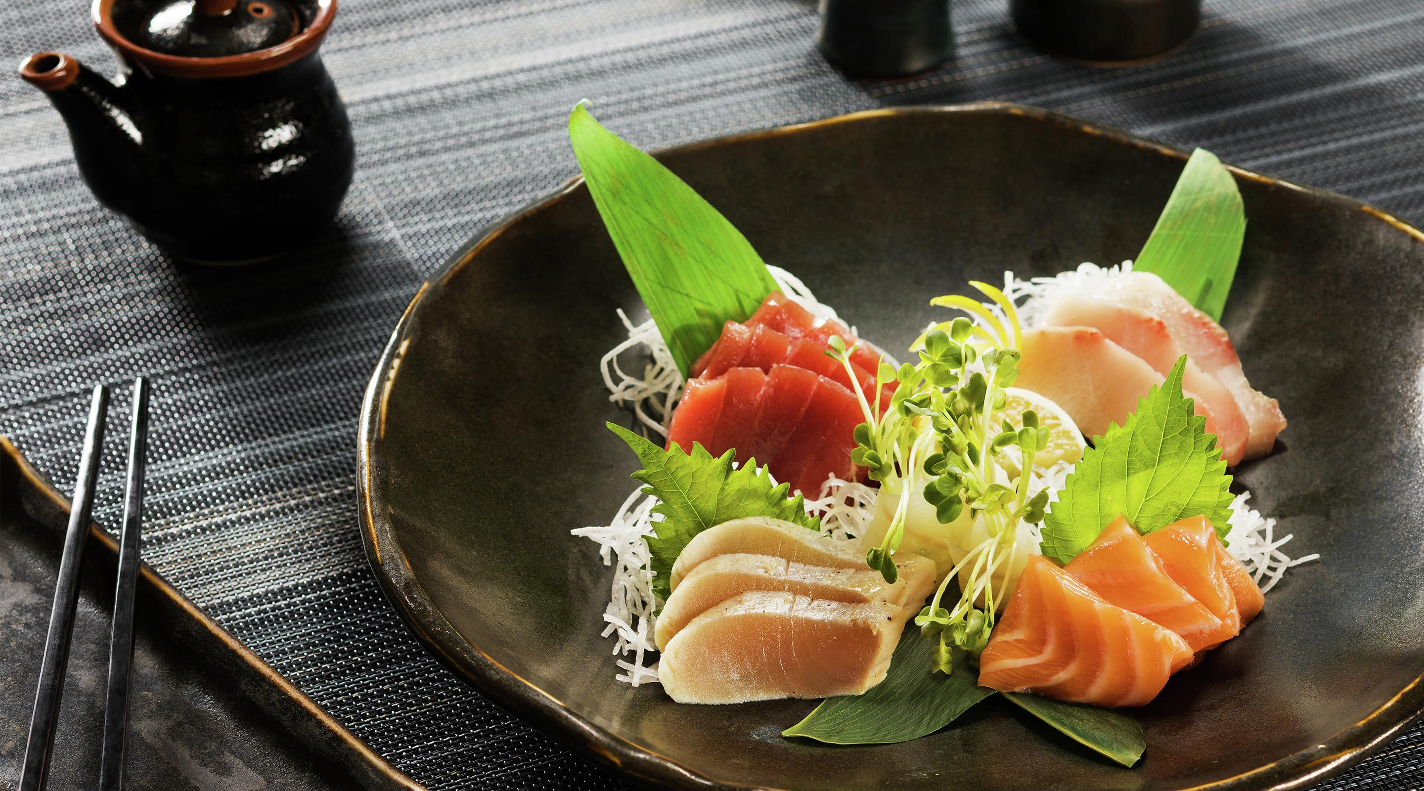 Sashimi from Mizuya at Mandalay Bay.