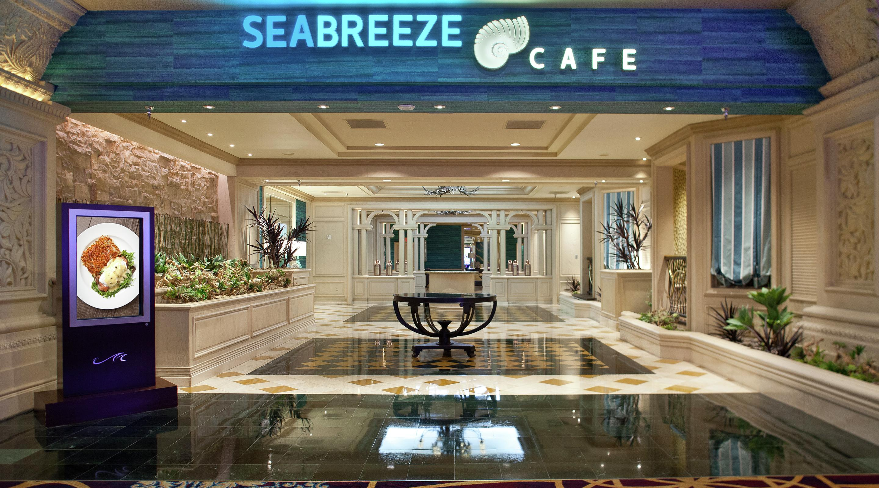 Stop By Seabreeze Cafe at Mandalay Bay.