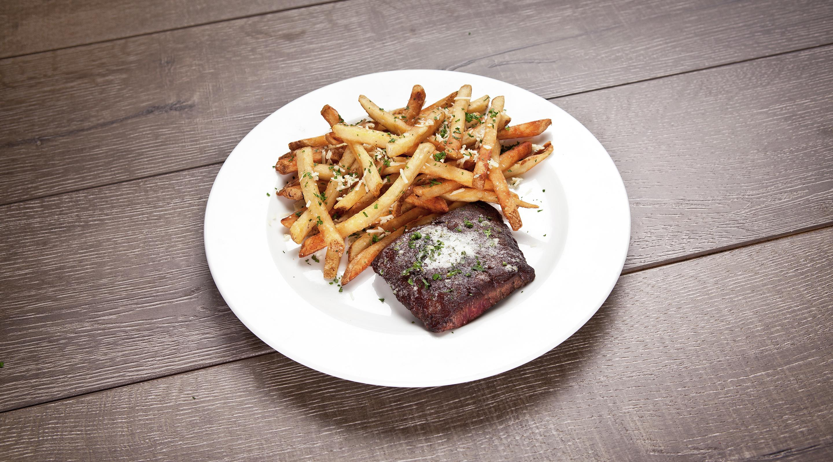 Come Try The Steak Frites at Seabreeze Cafe.
