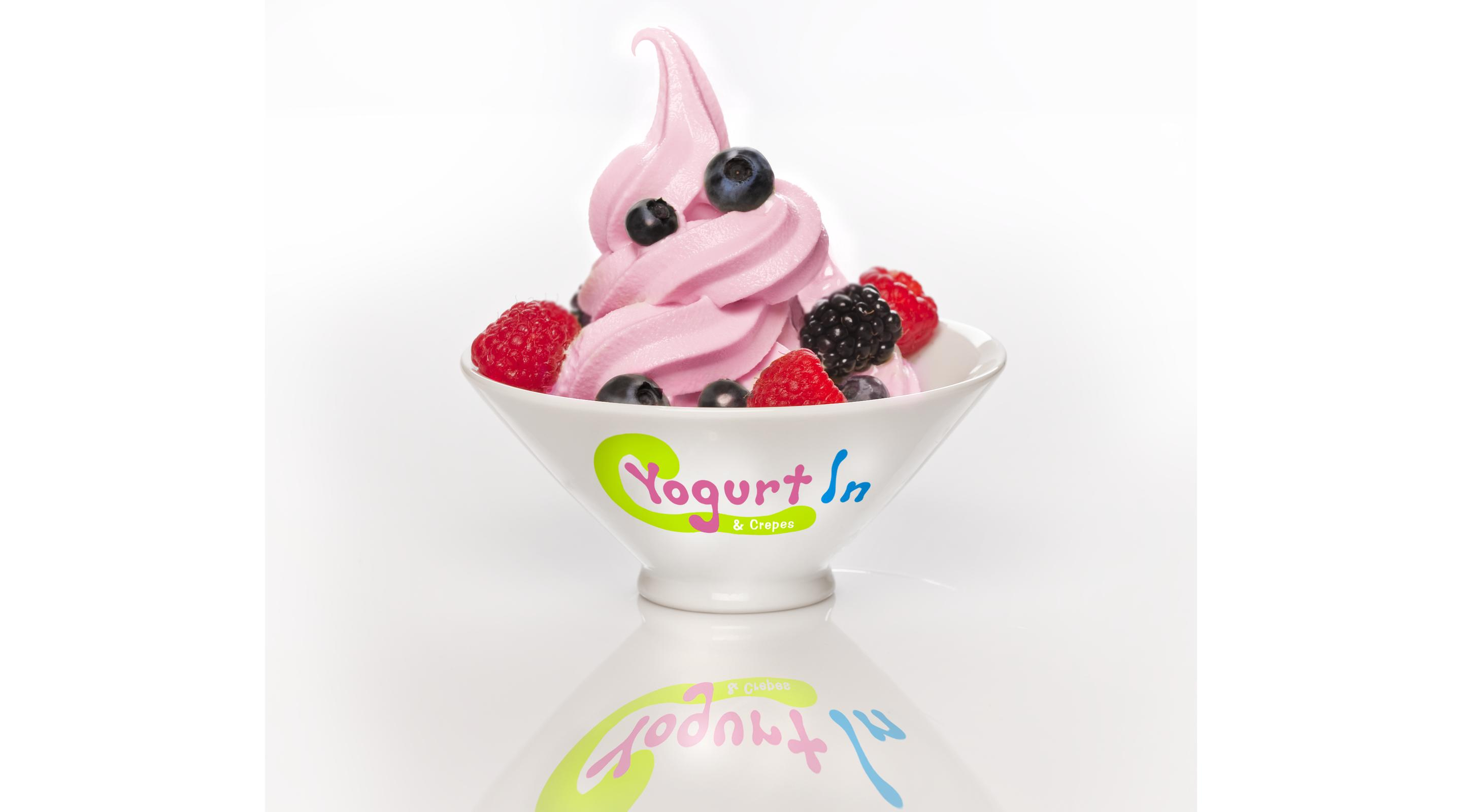 The Yogurt In is a yogurt place located at the Shoppes of Mandalay Bay.