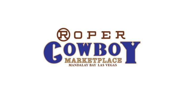 Roper Cowboy Marketplace Logo on white backdrop.