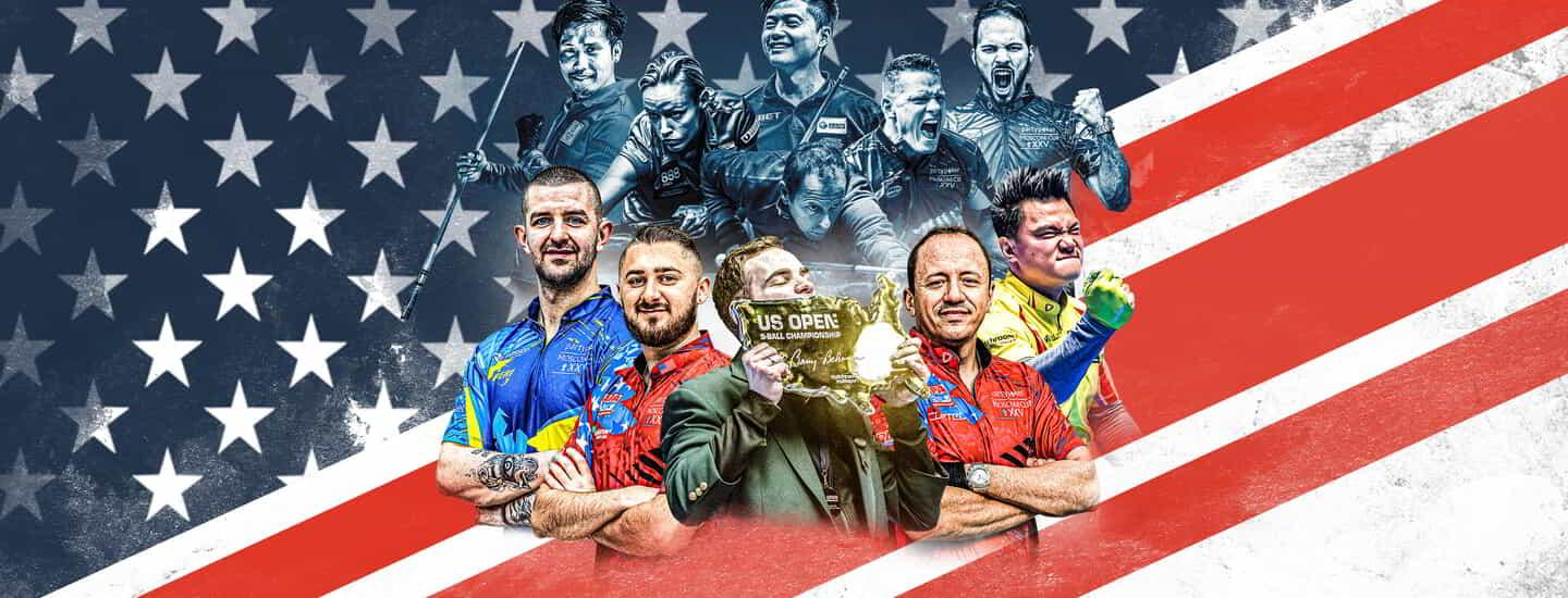 The US Open 9-Ball Championship returns to Mandalay Bay as America's most prestigious billiards tournament.