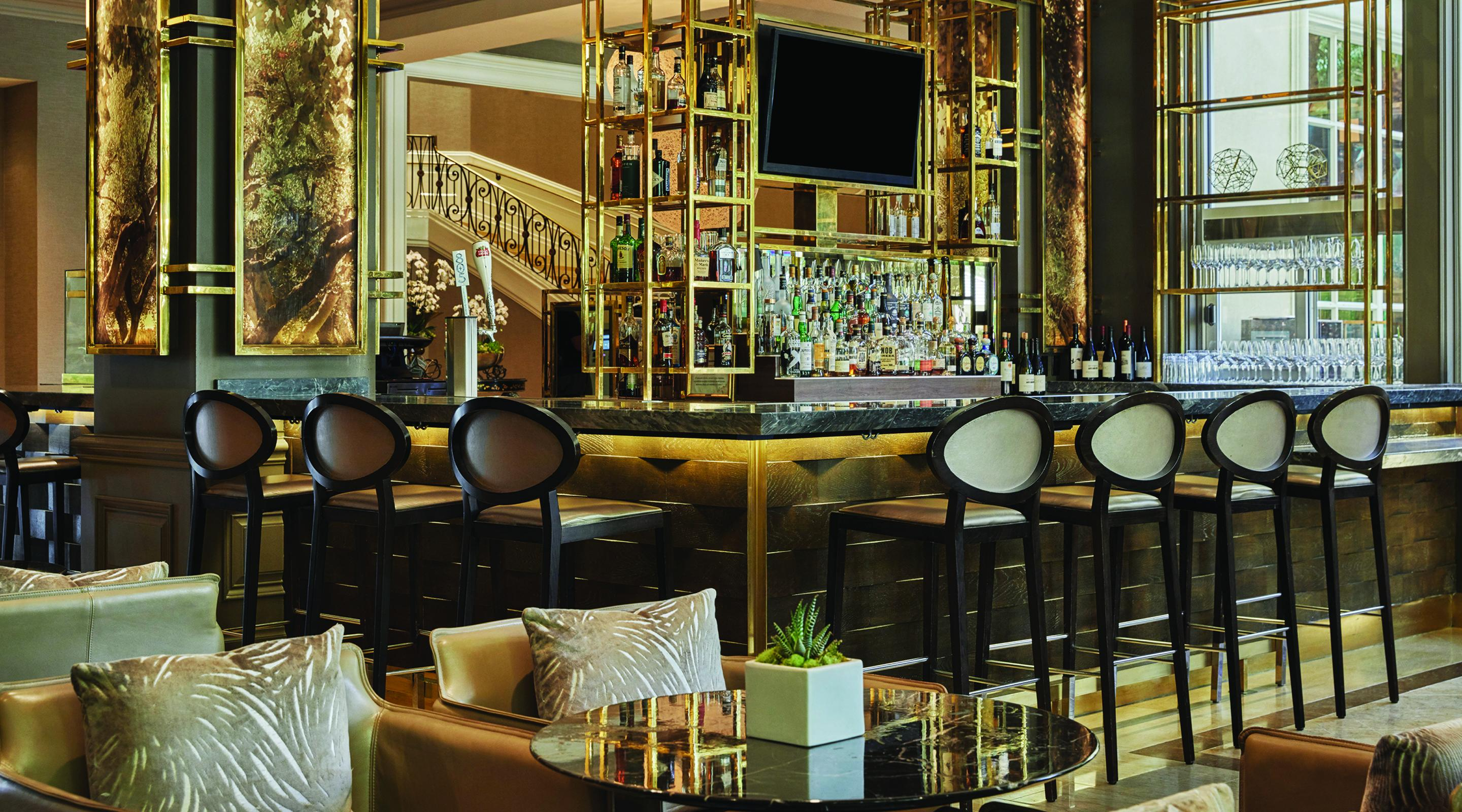 A view of PRESS Bar, located inside of the Four Seasons at Mandalay Bay.