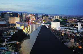View of the Las Vegas Strip From Mandalay Bay