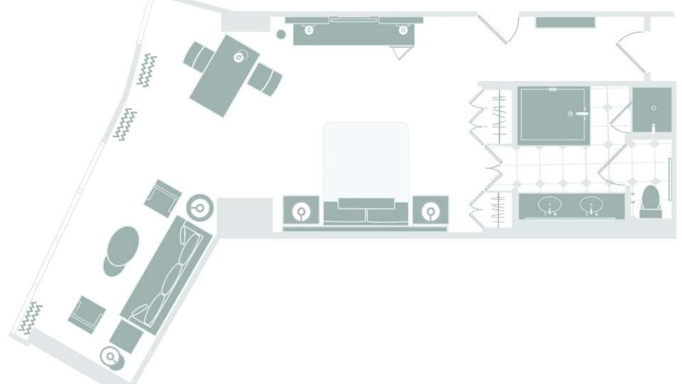 Mandalay Bay Floor Plan Executive King