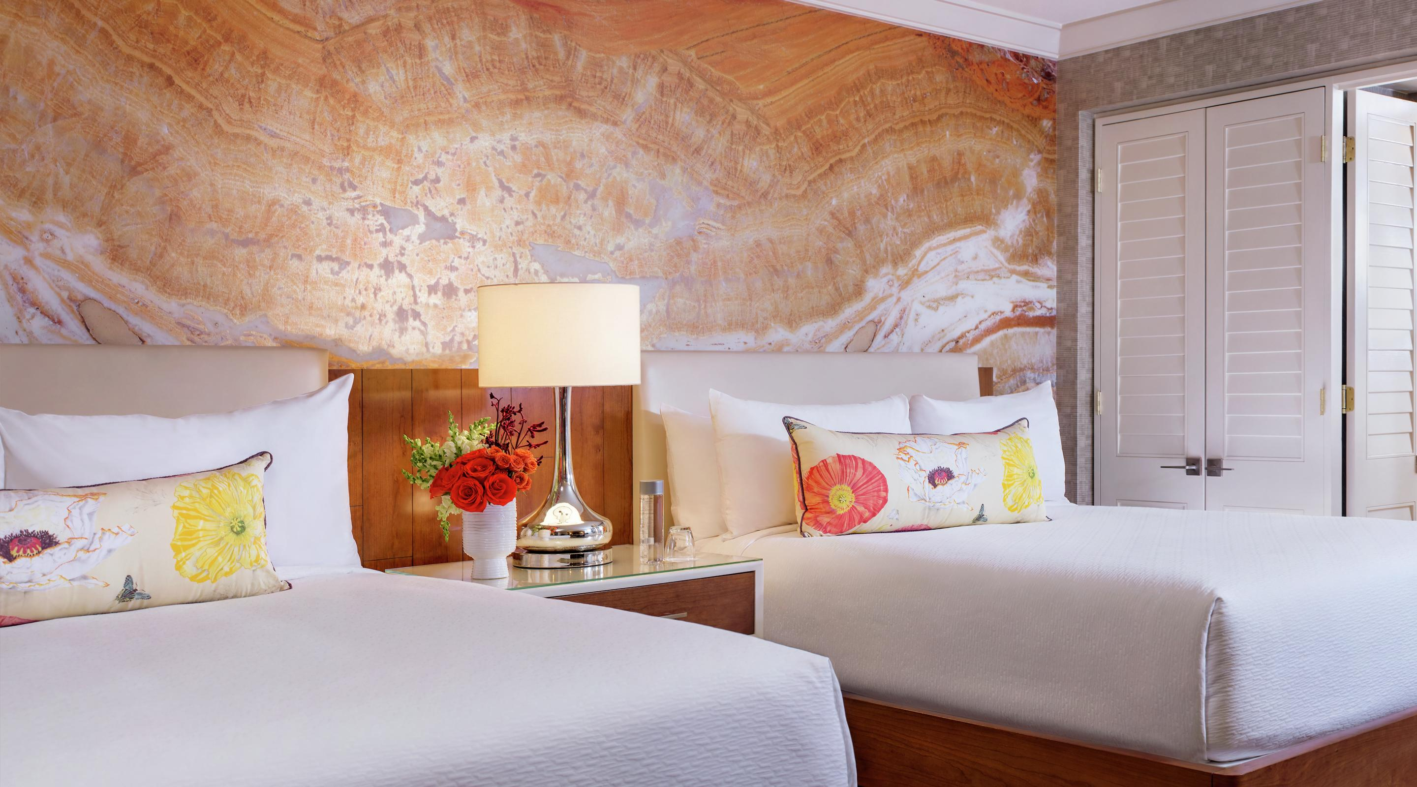 Our newly remodeled 550 square foot Resort Queen room is the perfect blend of comfort and style.