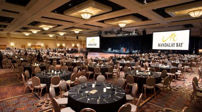 Banquet Dining in Convention Ballroom