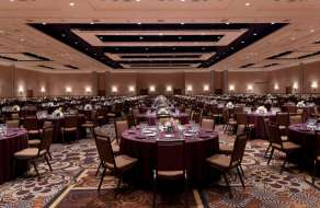 Banquet Set-Up in South Pacific Ballroom