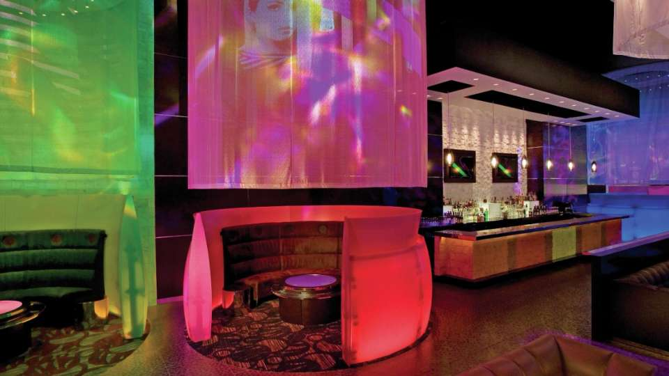 Private booths offered at Eyecandy Sound Lounge