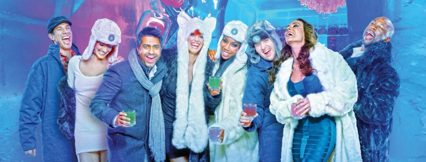 Host your next private event or company event at Minus5 Ice Bar and Lounge