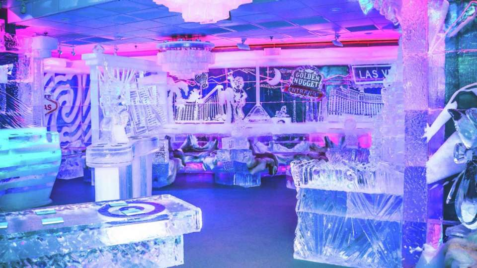 Experience the new cool at Minus5 Ice Bar