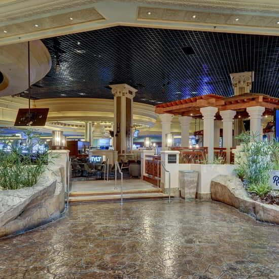 Located at the heart of Mandalay Bay, Rhythm & Riffs is the perfect location to rock out or relax with friends.