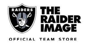 The Raiders Image Logo at The Shoppes at Mandalay Bay