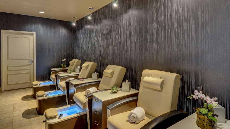 Enjoy our newly renovated pedicure room with state-of-the-art pedicure chairs.