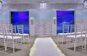 Mandalay Bay Wedding Seascape Venue.