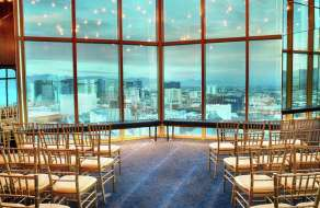 Weddings by Mandalay Bay offer unique weddings locations such as Rivea's private room, located on the 64th floor of Delano Las Vegas.