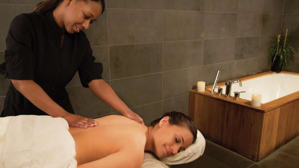 An IMMERSE spa massage.