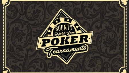 Bounty Hold'Em Poker Tournaments Logo.