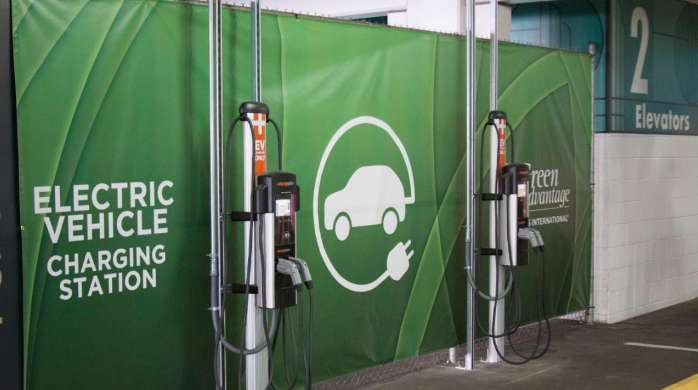 MGM Grand has two Electric Vehicle (EV) charging stations available for free use by its guests and employees.
