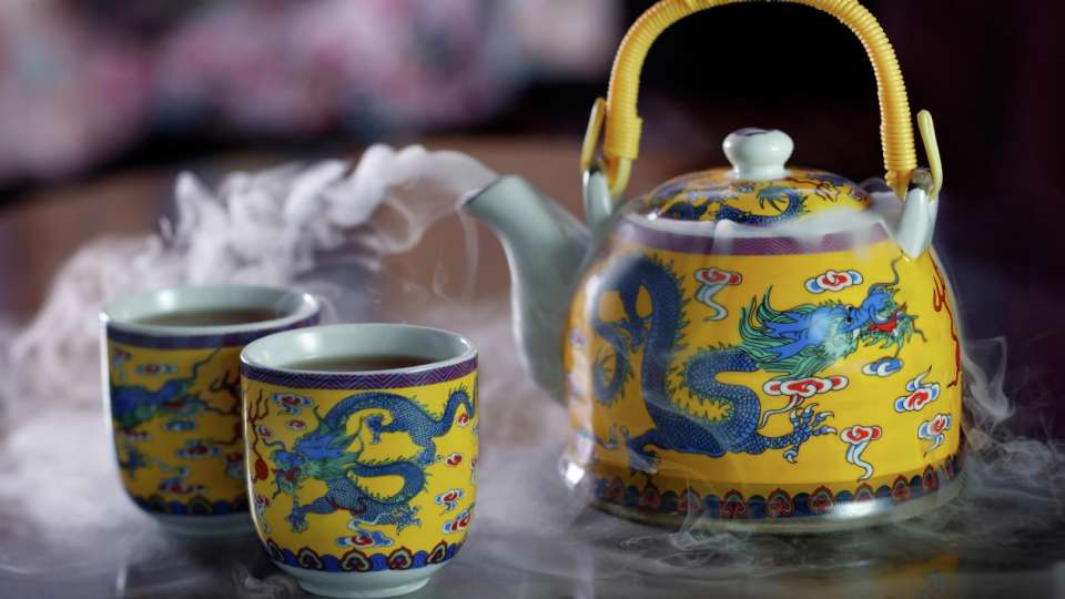 Images of Yu Gardens Tea at China Tang.