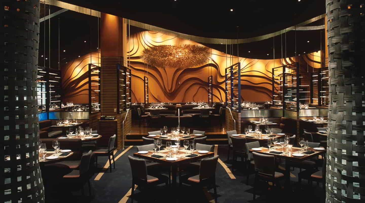 Dining Room at Fiamma Trattoria & Bar at MGM Grand