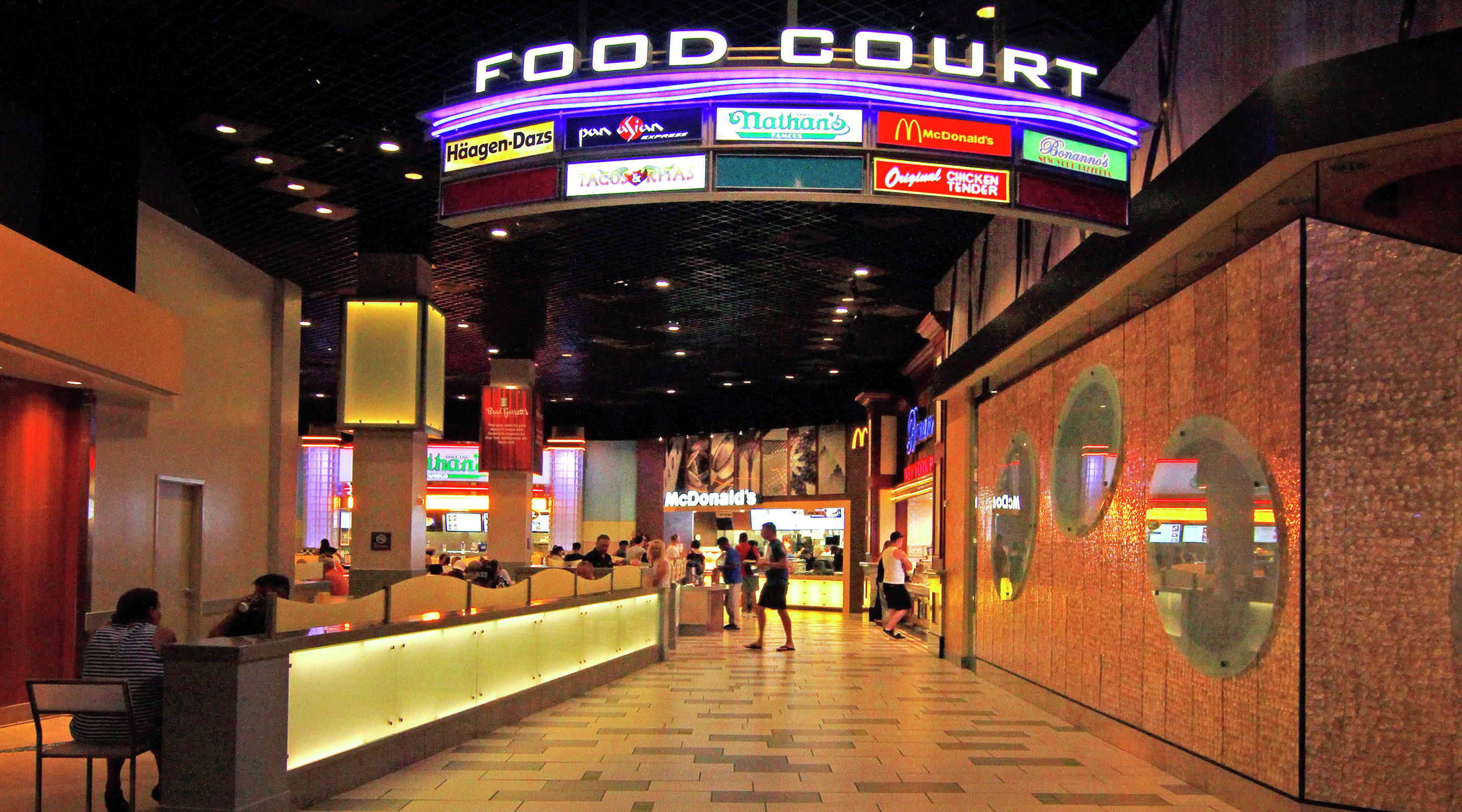 MGM Grand Food Court Entrance