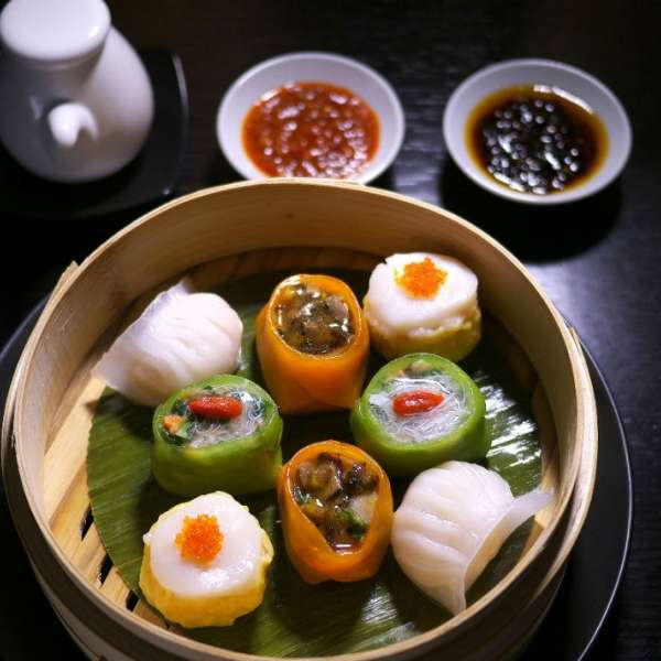 Signature Dish Dim Sum at Hakkasan Restaurant