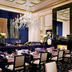 The main dining room inside Joël Robuchon Restaurant