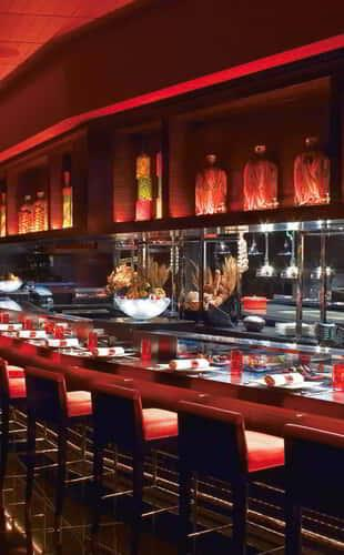 Dining Area at L'Atelier de Joël Robuchon