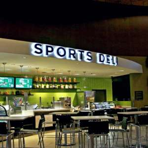 Exterior of Sports Deli at MGM Grand.