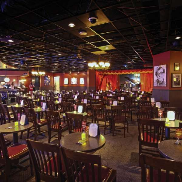 Brad Garrett's Comedy Club Interior