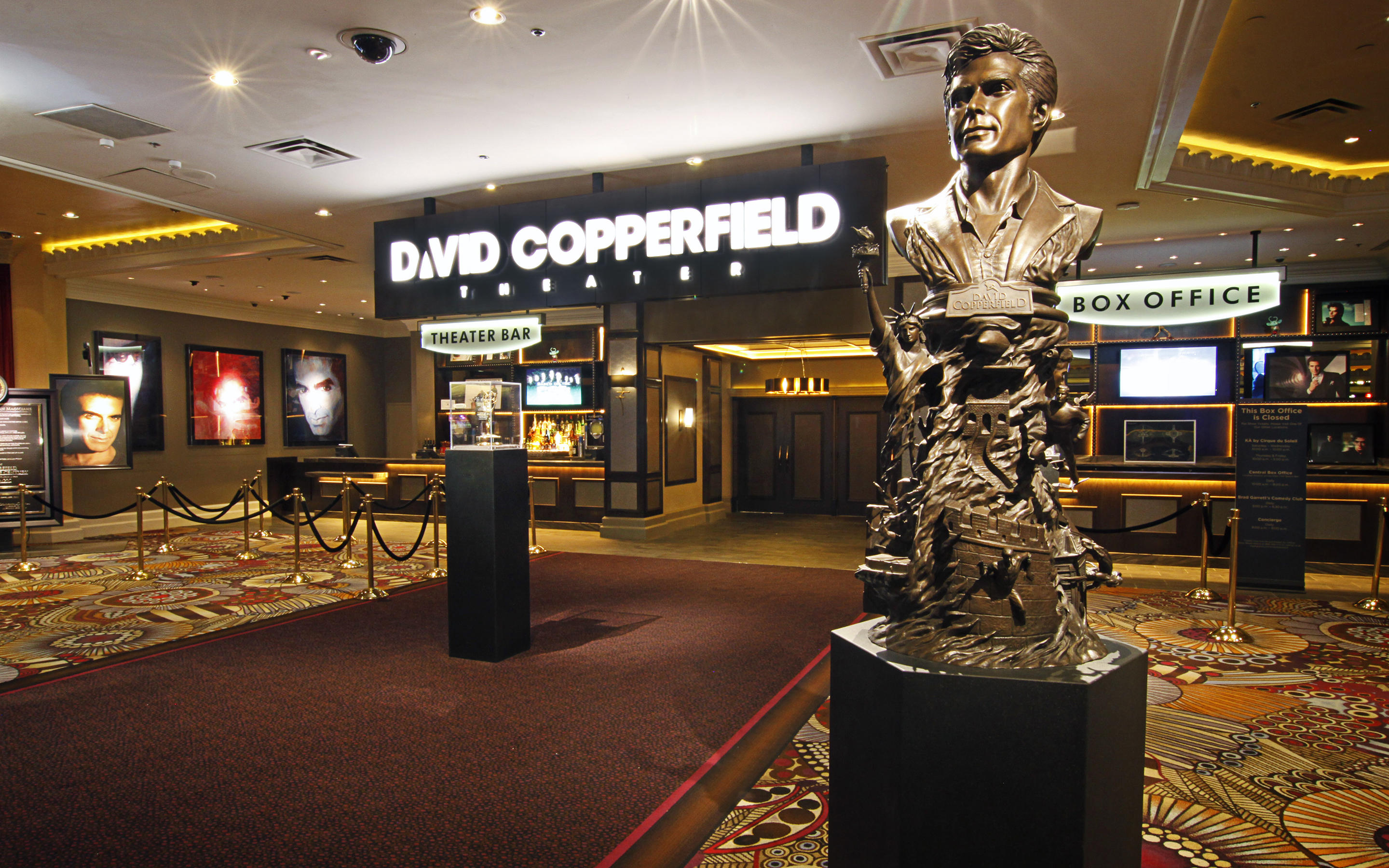 David Copperfield Theater Exterior