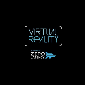 The Zero latency logo for virtual reality at MGM Grand.
