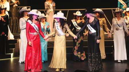 Former Miss Rodeo America Pageant Contestants