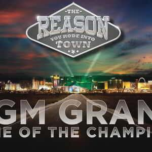 MGM Grand Revised NFR Logo and Creative 2015