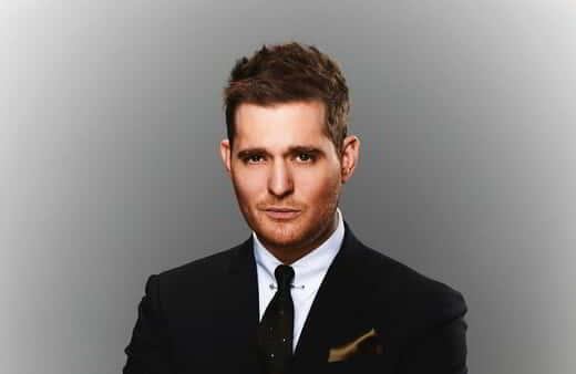 Michael Buble Lifestyle Gray Background