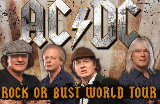 AC/DC Rock or Bust World Tour Live at MGM Grand Garden Arena!