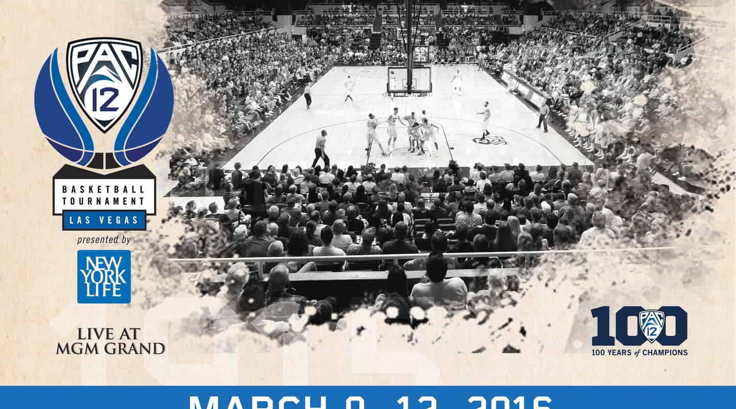 PAc-12 Tournament at MGM Grand Garden Arena March 9-12, 2016