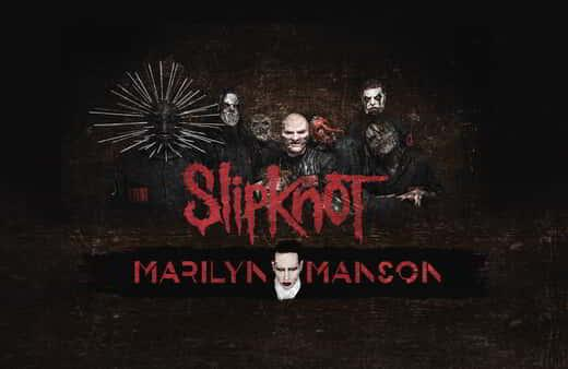 Slipknot with Marilyn Manson LIVE at MGM Grand