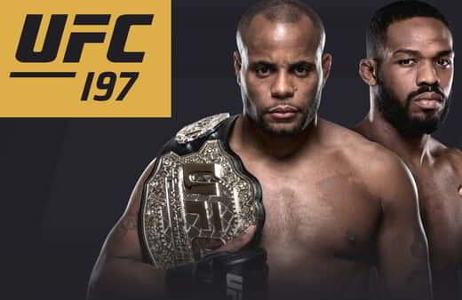 UFC 197: Cormier vs. Jones LIVE at MGM Grand Garden Arena on April 23