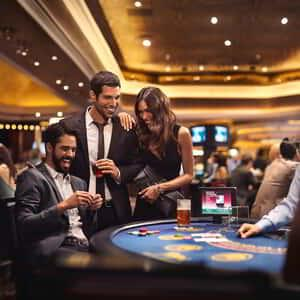 MGM Grand provides an entertaining gaming experience; poker, blackjack, slot machines, race and sports betting, and more!