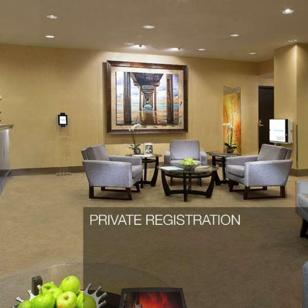 MGM Grand Stay Well Lounge Private Registration