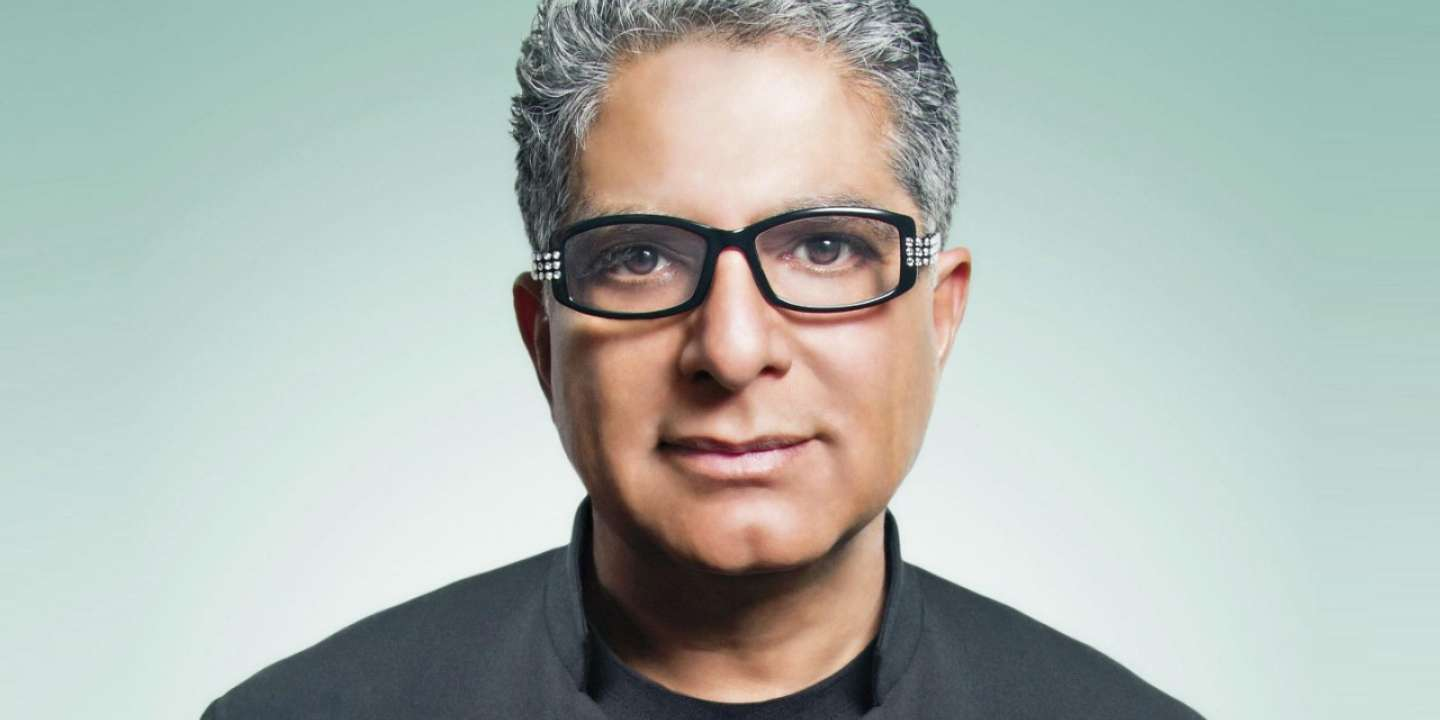 MGM Grand Stay Well Deepak Chopra Head Shot
