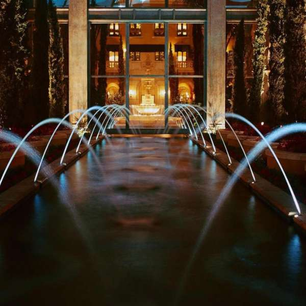 Fountains Outdoors at The Mansion at MGM Grand